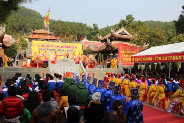 Lễ hội đền Chu Văn An